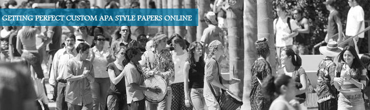 GETTING PERFECT CUSTOM APA STYLE PAPERS ONLINE